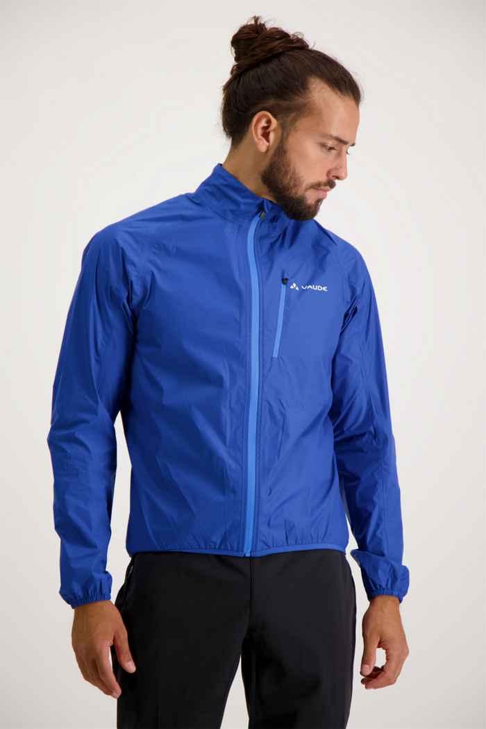 Vaude Drop III giacca da bike uomo Colore Blu 1
