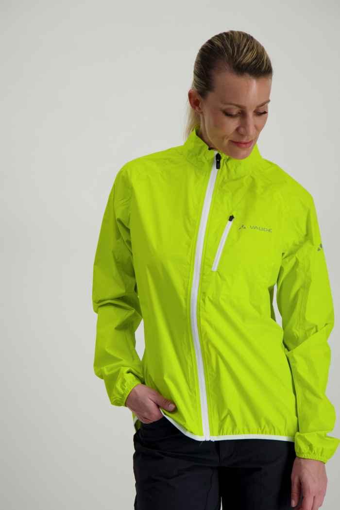Vaude Drop III veste de bike femmes Couleur Jaune 1