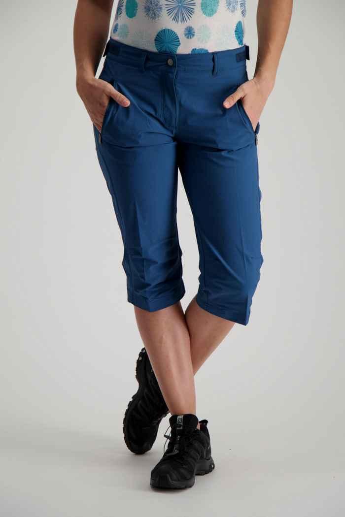 Vaude Farley Stretch II pantalon de randonnée femmes Couleur Bleu pétrole 1