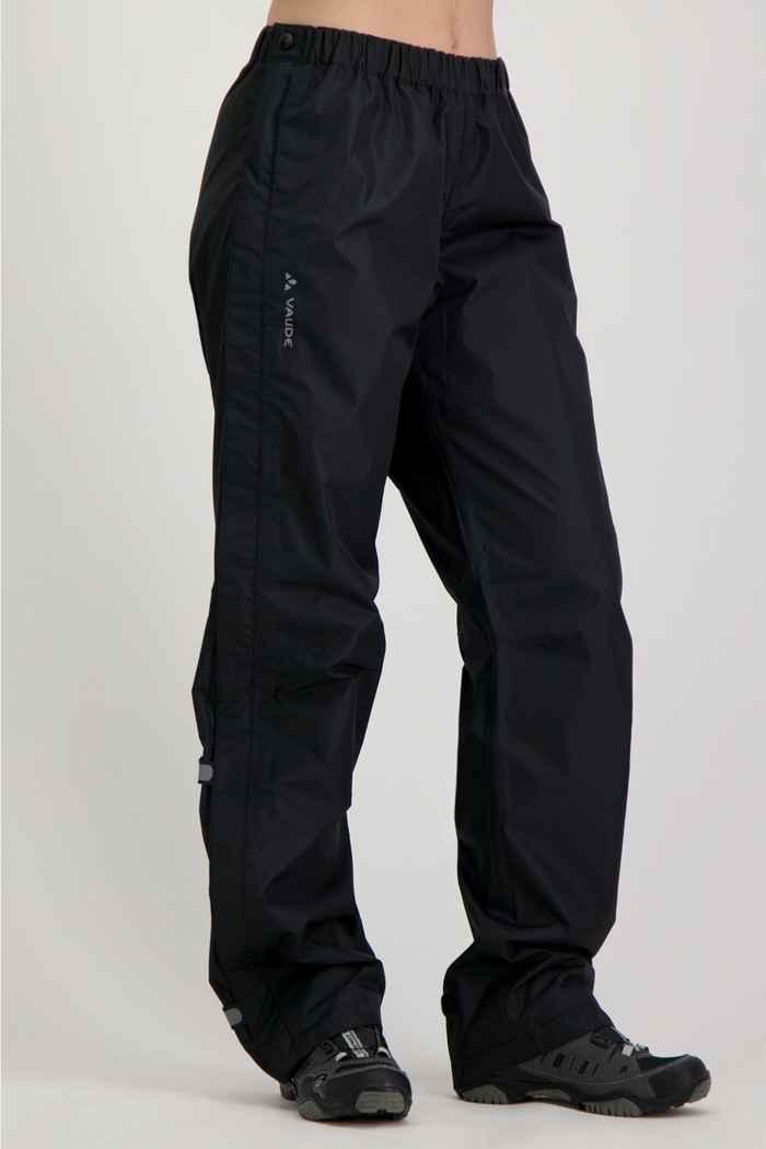 Vaude Fluid Full-Zip pantaloni antipioggia donna 1