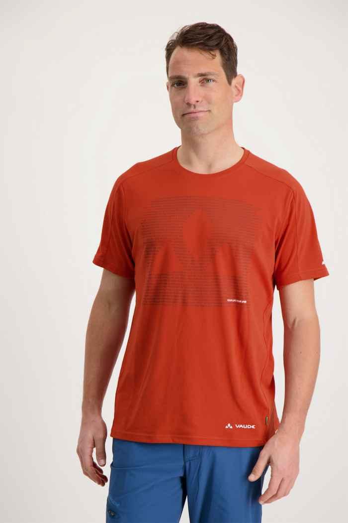 Vaude Gleann t-shirt hommes Couleur Orange 1