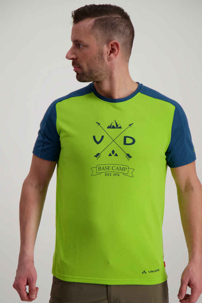 Vaude Gleann t-shirt uomo Colore Verde 1