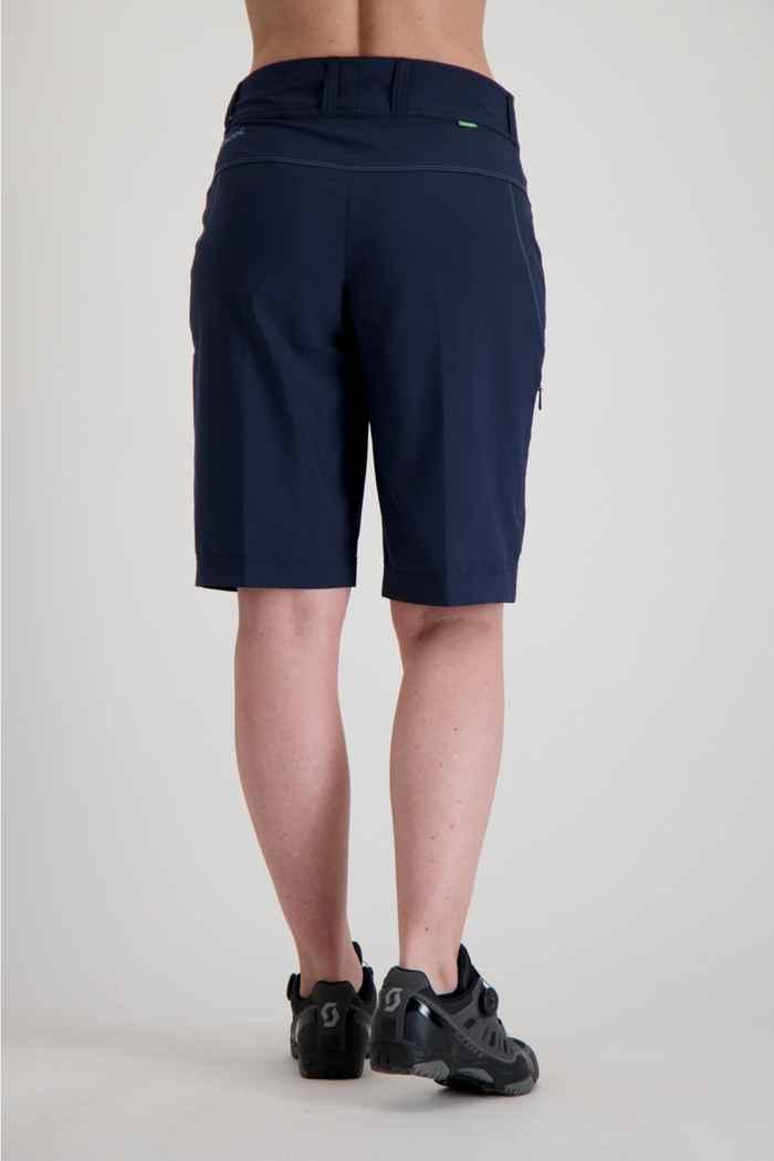 Vaude Ledro Damen Bikeshort Farbe Navyblau 2