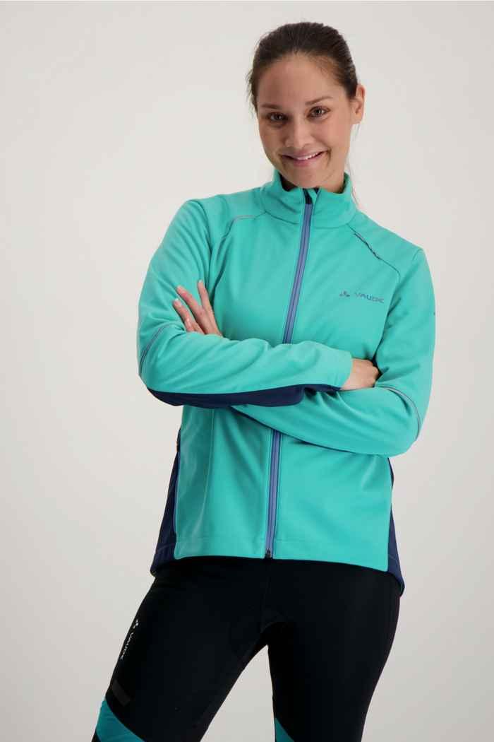 Vaude Resca III giacca da bike donna Colore Turchese 1