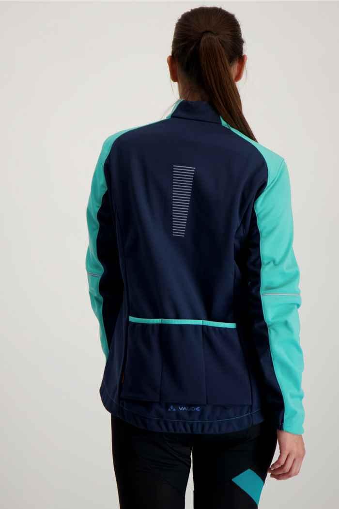 Vaude Resca III giacca da bike donna Colore Turchese 2