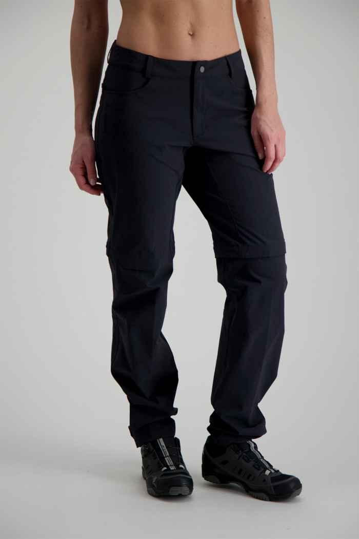 Vaude Yaki II Zip-Off pantaloni da bike donna 1