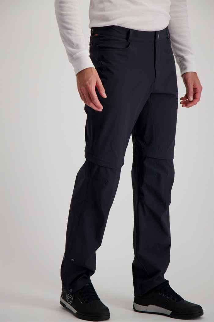Vaude Yaki II Zip-Off pantaloni da bike uomo 1
