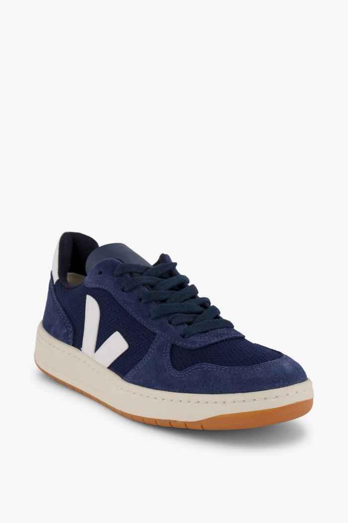 VEJA V-10 B-Mesh sneaker donna Colore Blu 1