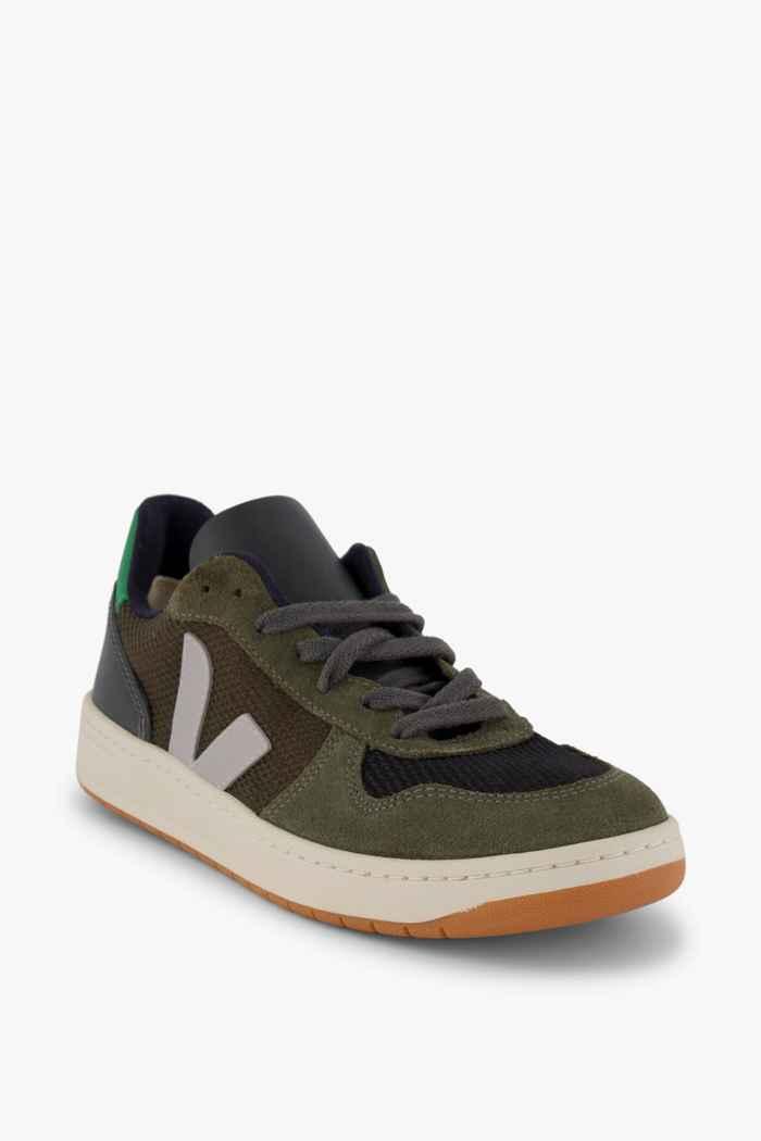 VEJA V-10 B-Mesh sneaker donna Colore Verde oliva 1