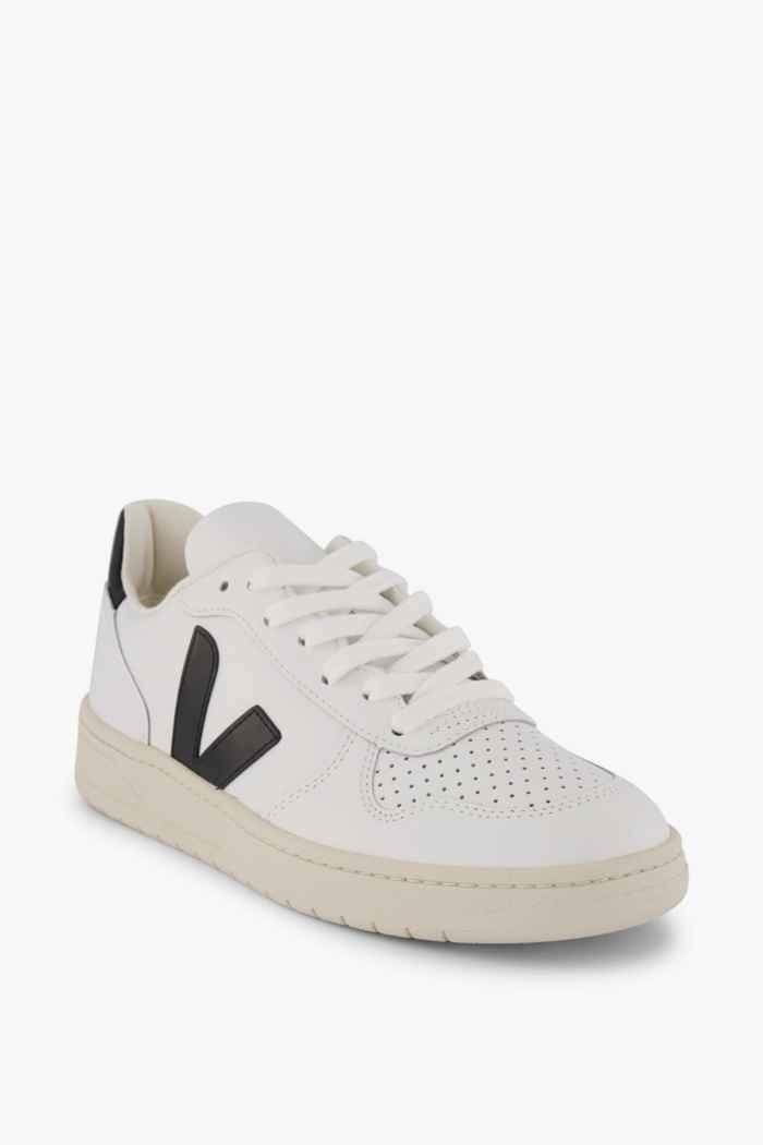 VEJA V-10 Damen Sneaker Farbe Schwarz-weiß 1