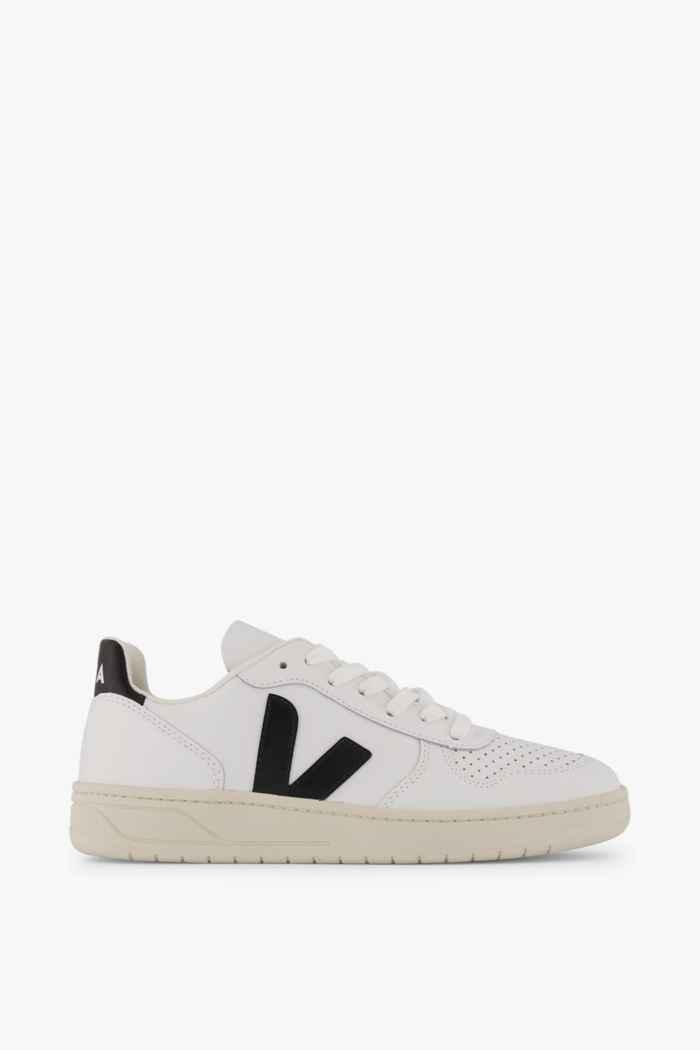 VEJA V-10 Damen Sneaker Farbe Schwarz-weiß 2