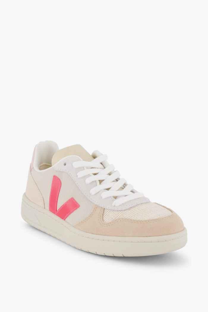 VEJA V-10 Suede sneaker femmes Couleur Crème 1