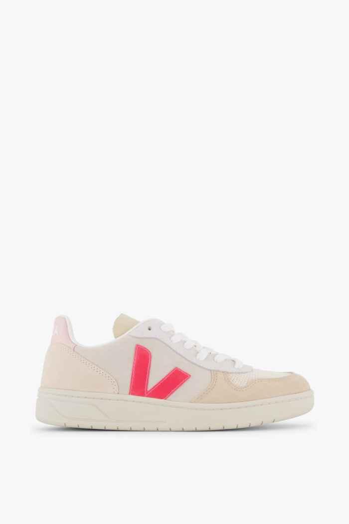 VEJA V-10 Suede sneaker femmes Couleur Crème 2