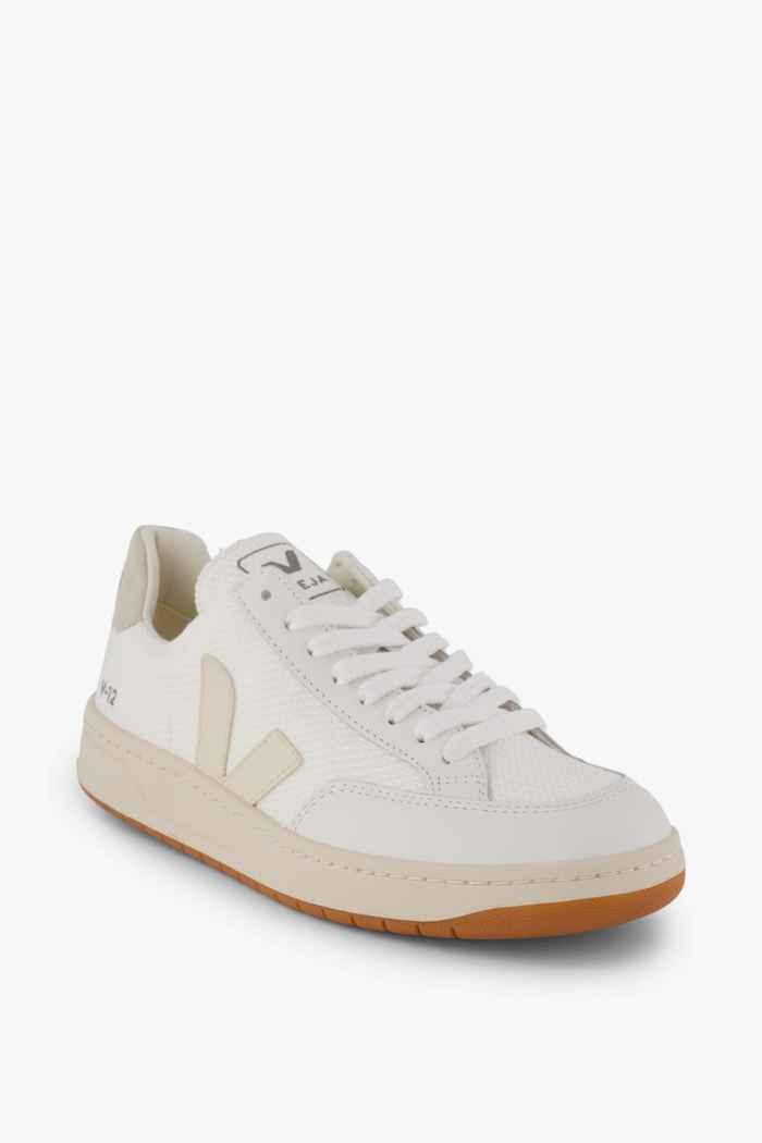 VEJA V-12 B-Mesh sneaker uomo Colore Crema 1