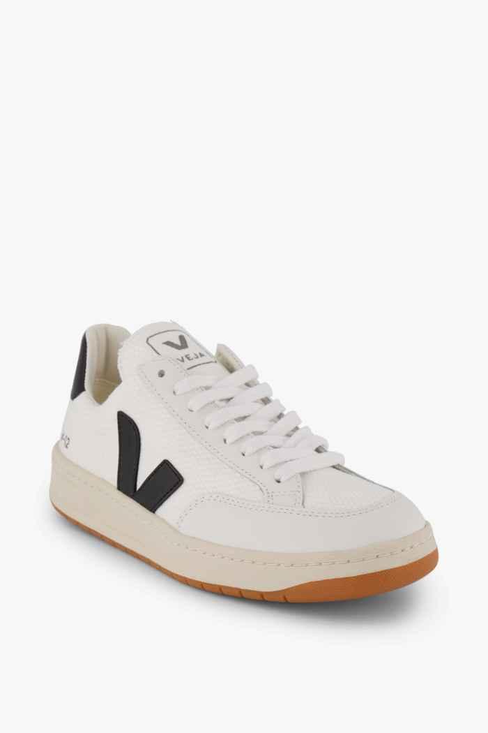 VEJA V-12 Damen Sneaker Farbe Schwarz-weiß 1