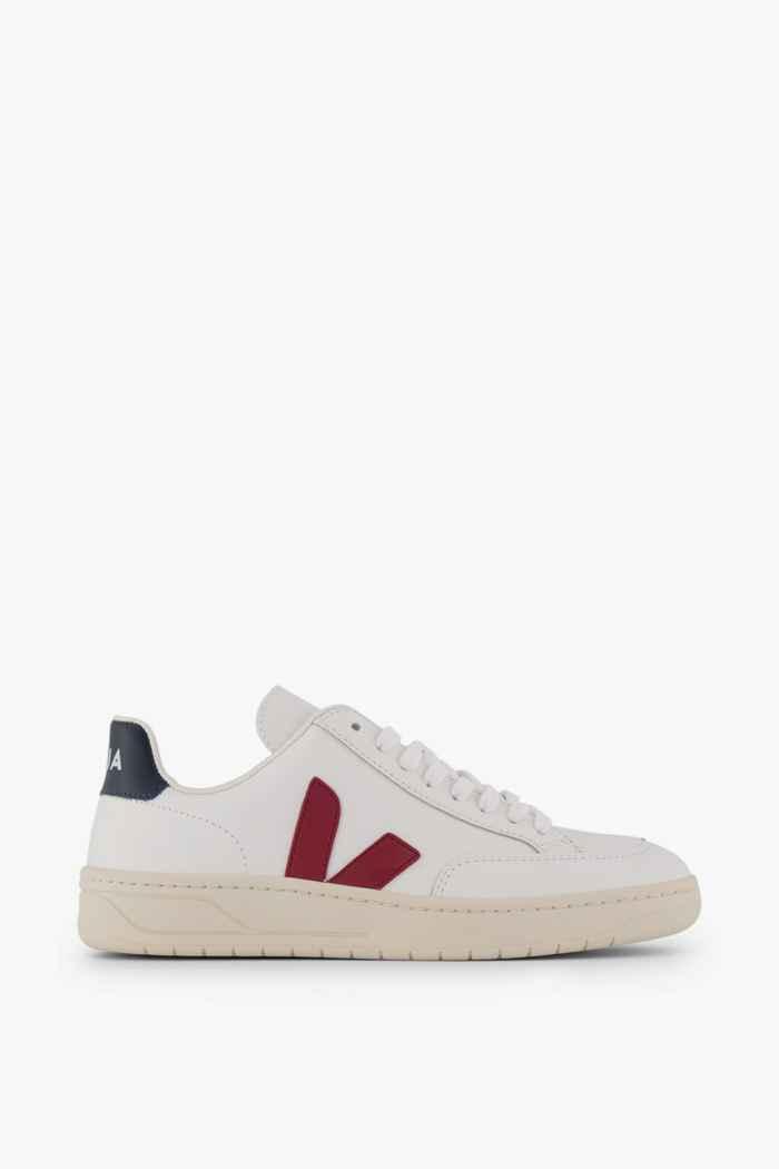 VEJA V-12 Leather sneaker uomo Colore Bianco 2