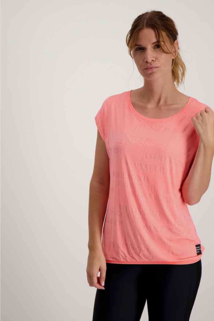 Venice Beach Wonder DJVB Damen T-Shirt Farbe Rot 1