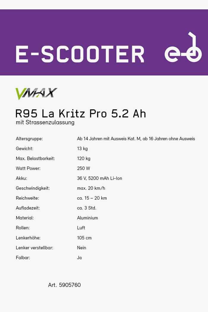 VMAX R95 La Kritz Pro e-monopattino 2