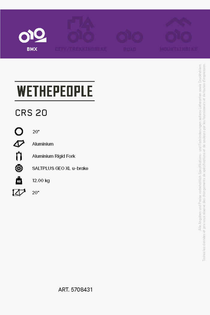 Wethepeople CRS 20 BMX 2021 2