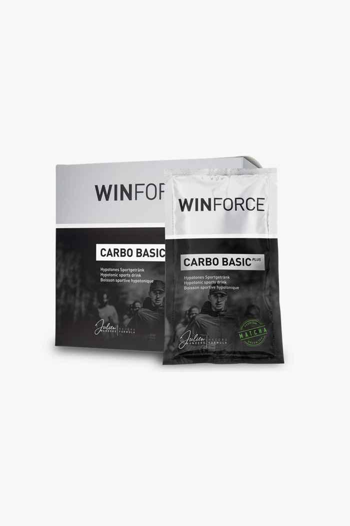 Winforce Carbo Basic Plus Matcha 10 x 60 g boisson en poudre Couleur Argent 1