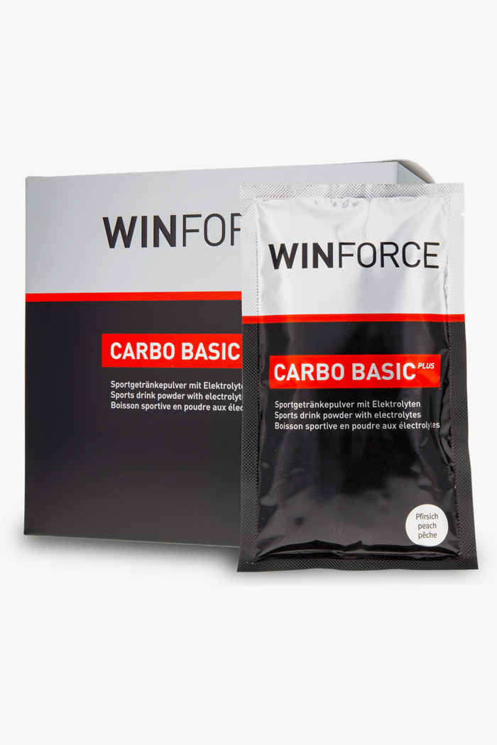 Winforce Carbo Basic Plus Neutral 10 x 60 g boisson en poudre Couleur Noir/rouge 1