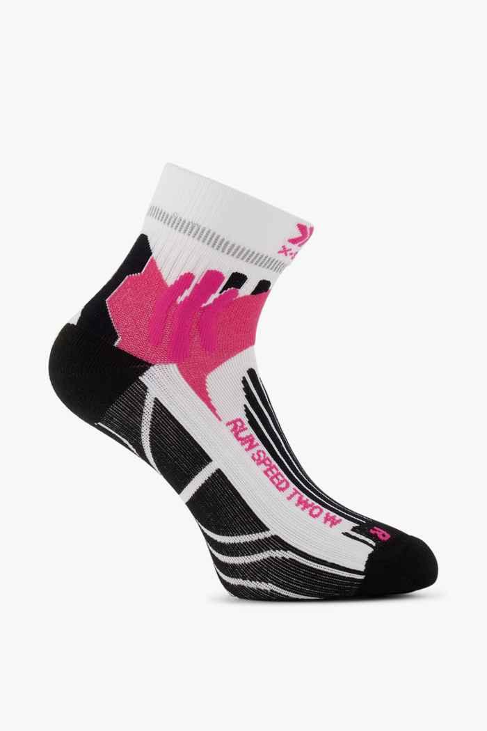 X-Socks Run Speed Two 35-42 chaussettes de course femmes Couleur Blanc 1