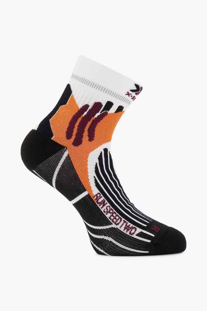 X-Socks Run Speed Two 35-47 chaussettes de course Couleur Blanc 1