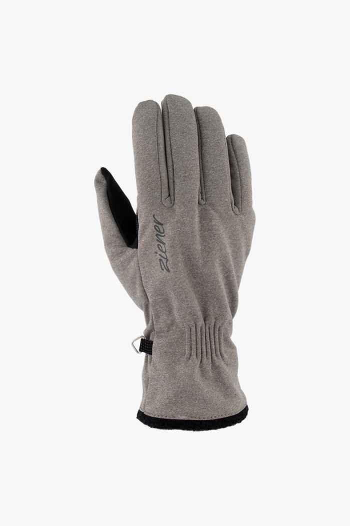 Ziener Ibrana Touch gants femmes Couleur Gris 1